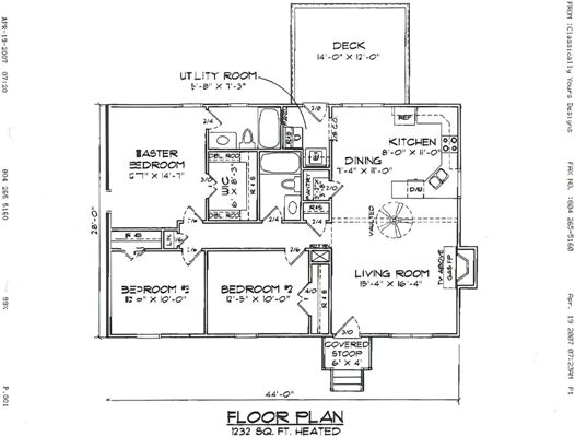 here are a few sample floor plans